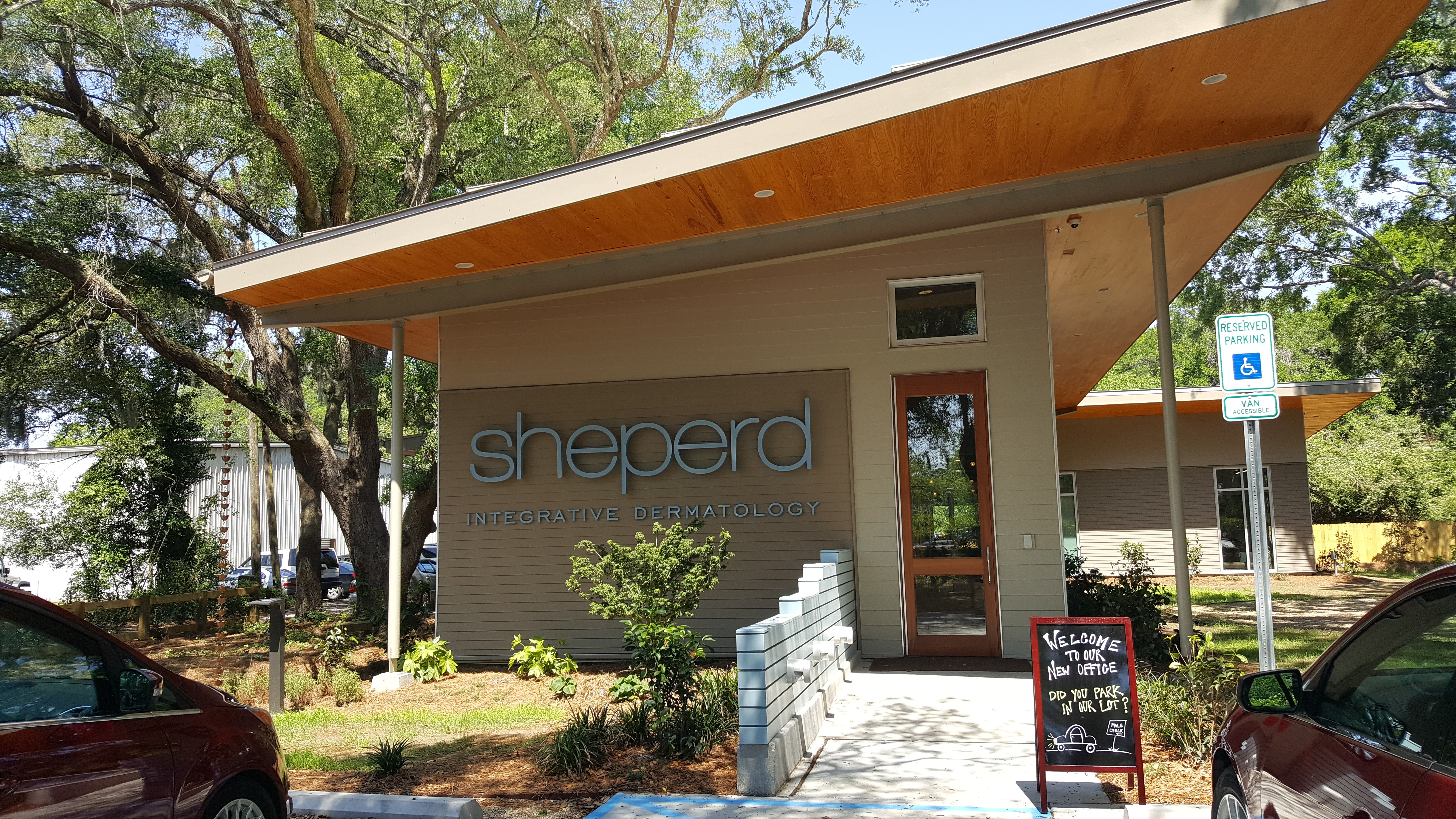 Transworld Inc. Electrical Contractors Completed Office for Shepherd Medical Dermatologist Mount Pleasant
