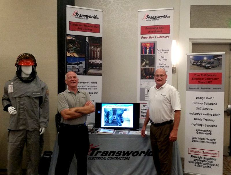 Transworld, Inc. Electrical Contractors attending the SC Association of Municipal Power Systems's 2016 Annual Meeting