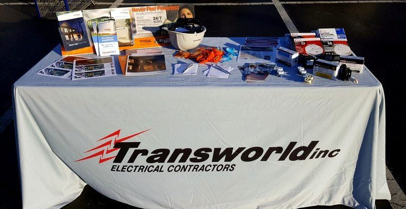 James Island PSD Fire Department Annual Fire Prevention Night, Transworld Inc Electrical Contractors