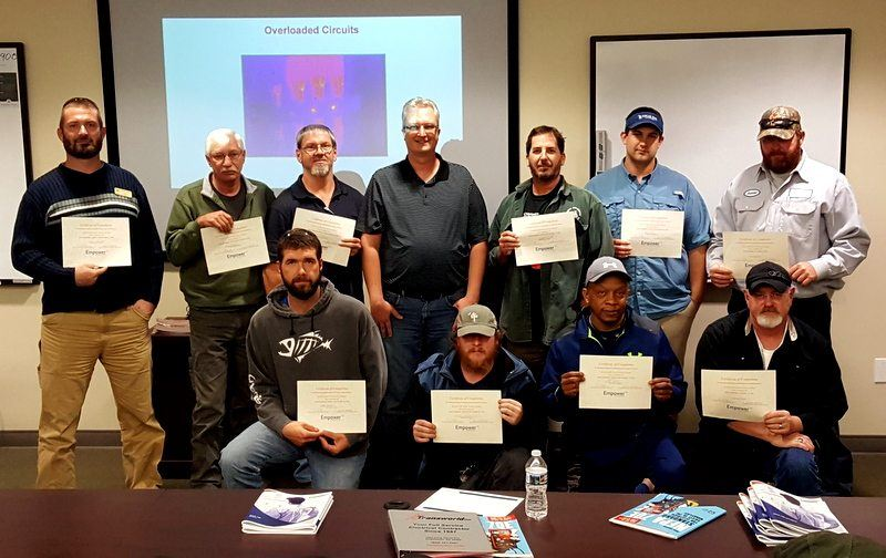 Transworld, Inc. Electrical Contractors hosts NFPA 70E:Electrical Safe Work Practices and Safety-Related Maintenance Course at Shealy Electrical Wholesalers in Columbia, SC