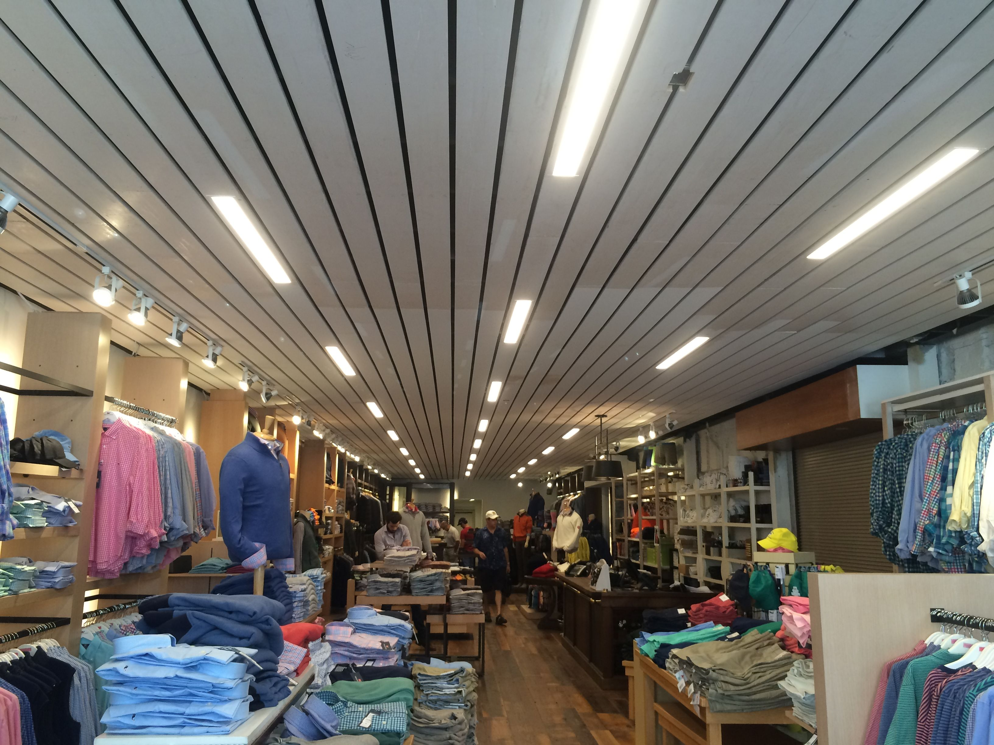 Transworld, Inc. Electrical Contractors LEDs lighting upgrades at Dumas and Sons in downtown Charleston South Carolina