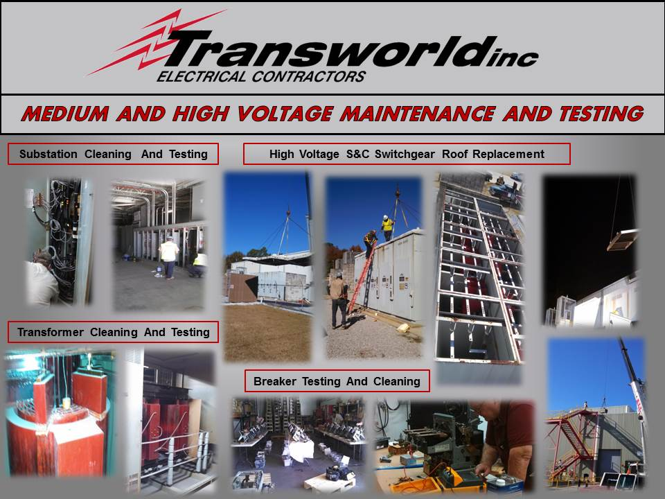 Medium And High Voltage Maintenance And Testing