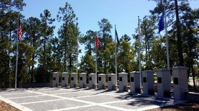 Veterans Memorial in North Myrtle Beach, S.C. Electrical Design Build by Transworld, Inc. Electrical Contractors.