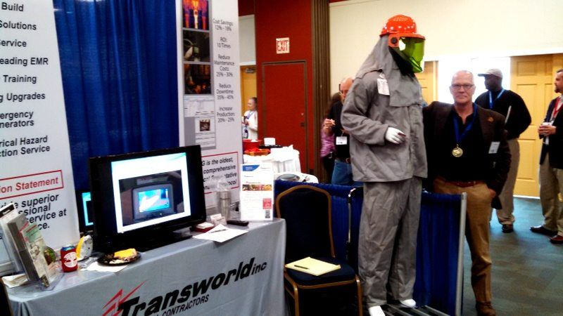 Steve Gillespie, TEGG Professional Consultant at Transworld, Inc. Electrical Contractor Booth at the SCAPPA Conference
