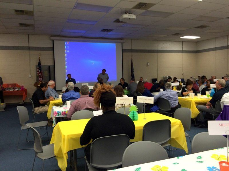 Transworld, Inc. Electrical Contractors attending the Advisory Board Luncheon at Dorchester Career and Technology Center