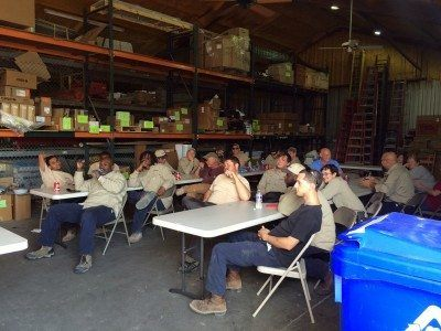 Transworld inc. Electrical Contractors Company Meeting in Charleston SC