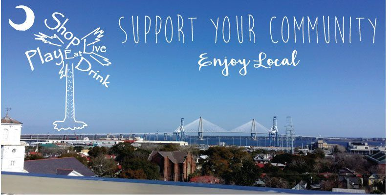 Enjoy local businesses in Charleston, SC