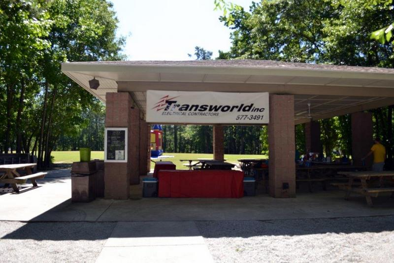 Transworld, Inc. Electrical Contractors Annual Company Picnic in Charleston South Carolina