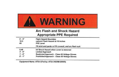 Arc-Flash-Analysis-testing-arc flash stickers