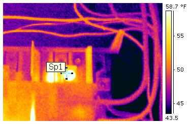 Infrared Thermography Testing in Charleston and South Carolina. Professional Electricians.