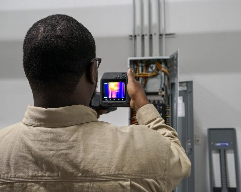 Infrared Testing - Electrical Contractors - South Carolina
