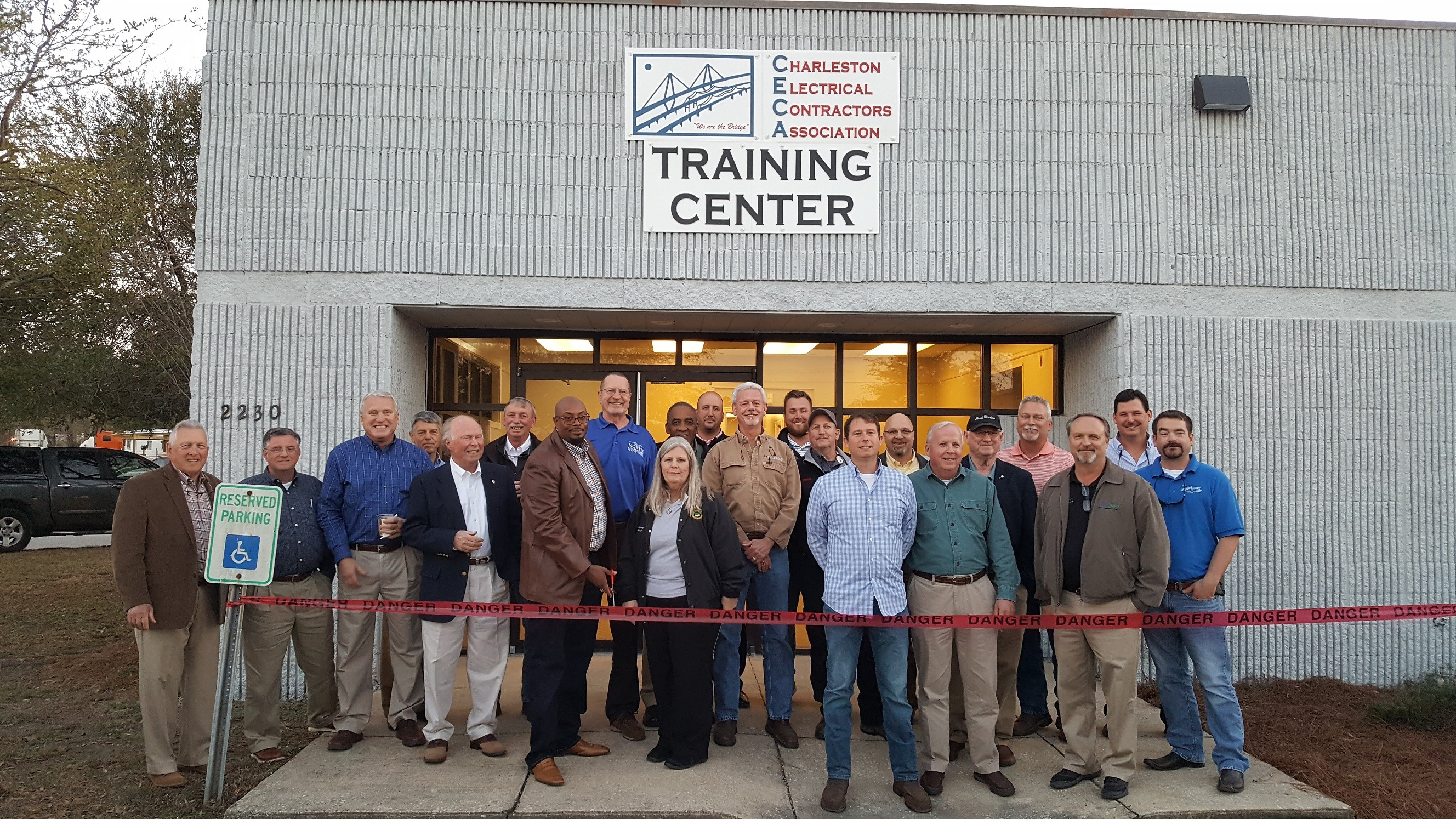 CECA (Charleston Electrical Contractors Association) Ribbon Cutting Ceremony