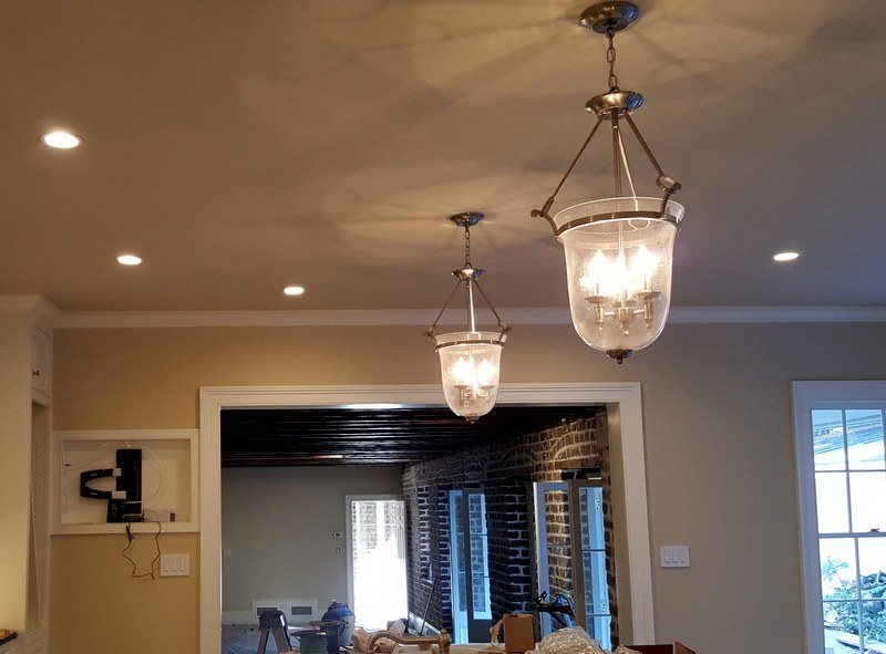 Kitchen Recess Lighting - Charleston Electrician