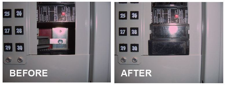 Missing-knockouts---Before-and-After---NEC-Code-Violation