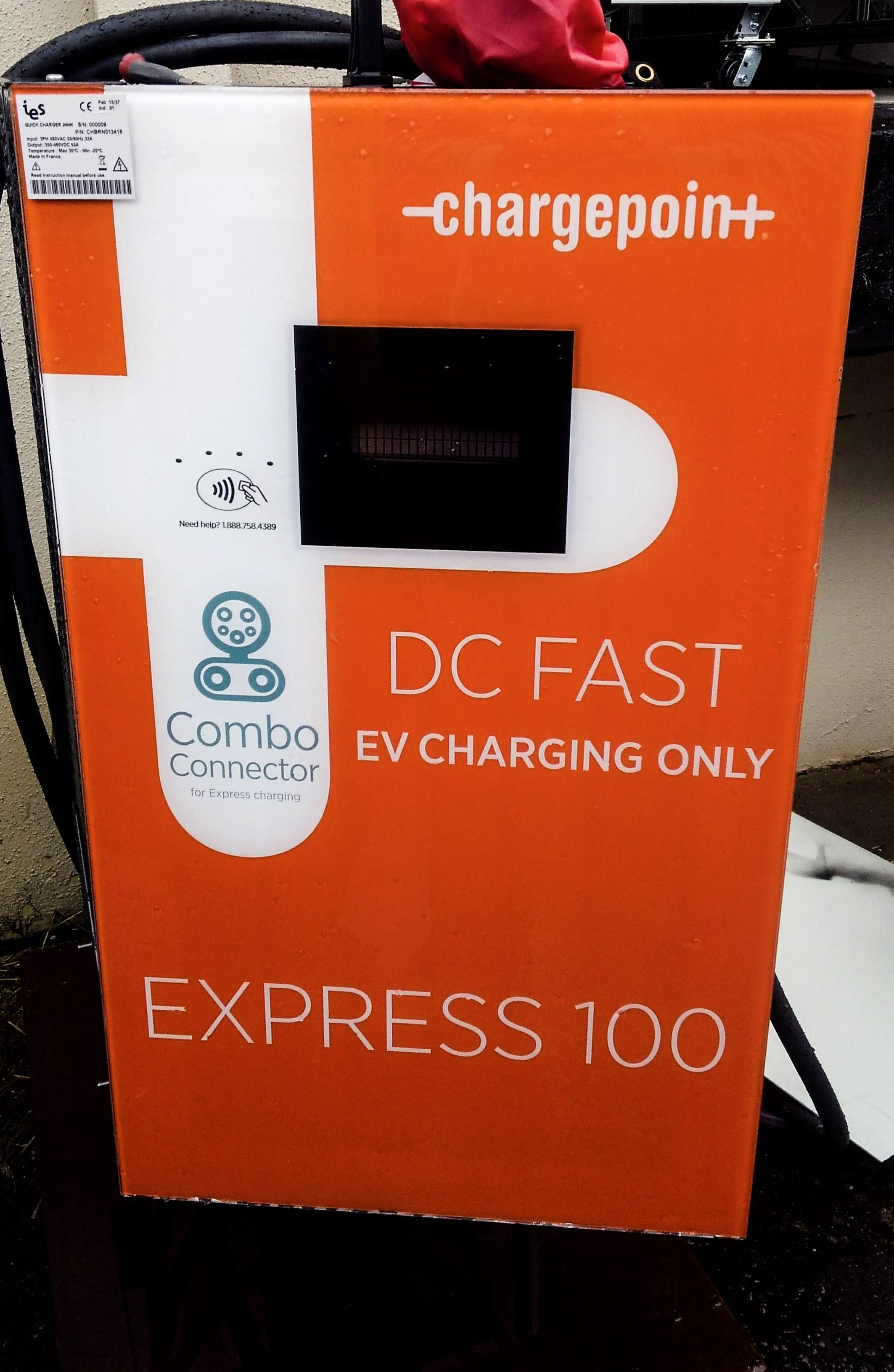 E;ectrical Vehicle (EV) Charging Station - ChargePoint Express