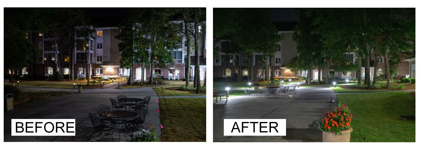 Ballard LED Light project - Charleston Electrical Contractors SC