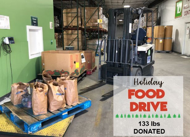 Holiday Food Drive - Charleston Electricians - Local Electricians