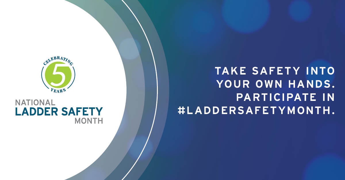 National Ladder Safety Month - Transworld Electric - Charleston Electrician